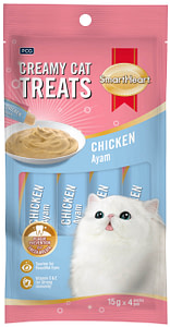 SmartHeart® Creamy Cat Treat – Squid Flavor
